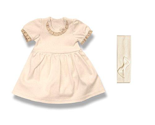 Geschenk-Set Baby BY38 Gr. 56, Erst-Ausstattung mit Spitze u. Schleife Säugling-e Babies Mädchen Weihnacht-en