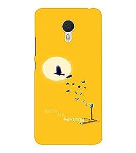 EPICCASE Sharpen your imagination Mobile Back Case Cover For Meizu M3 Note (Designer Case)