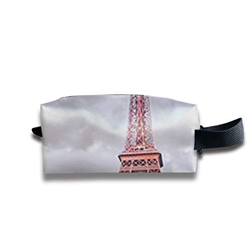 Turm in Paris Frankreich tragbare Reise Make-up Kosmetiktaschen Organizer Multifunktions-Tasche Taschen für Unisex (Der Mann In Den Hohen Turm)