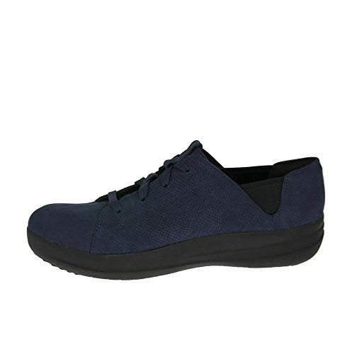 FitFlop F-sportive Espadrilles Lacets Marine Minuit Serpent Marine Minuit Serpent