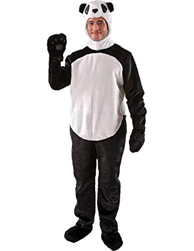 Damen Herren Erwachsene Tier Panda Dschungel Karneval Kostüm -