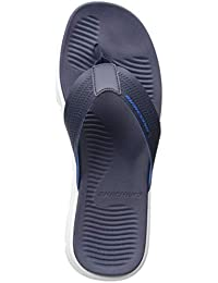 52133aab1e5 Skechers Men s Wind Swell Butterlake Navy White Slippers (51741-NVW)