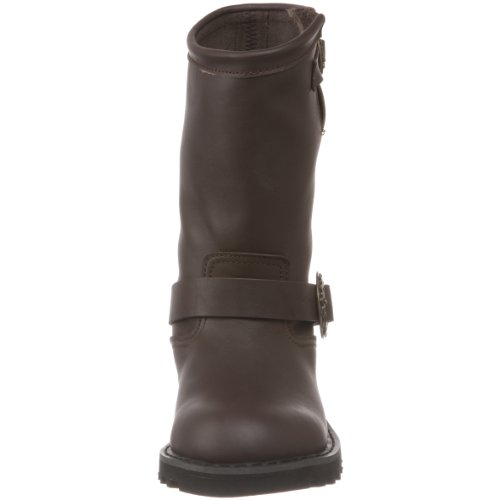 Demonia , bottes homme Brown Leather