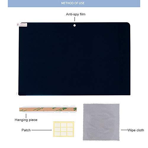 Ruoxiang Laptop Anti-Peep Film schützt den LCD-Bildschirm vor Kratzern 221mm x 130mm