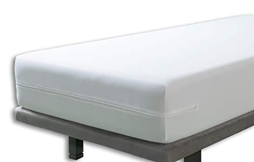Velfont – Anti-Wanzen-Matratzenbezug, wasserdicht und atmungsaktiv – Matratzen-Höhe 15-30cm - verfügbar in verschiedenen Größen - 140x190/200cm