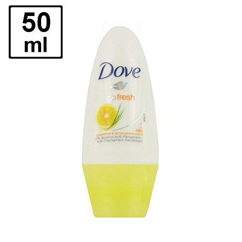 "6 x DOVE Deodorant Women ""Go Fresh - Grapefruit & Lemongrass"" Roll-on - 50 ml"