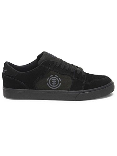 Element Heatley, Sneaker Uomo Black / Black