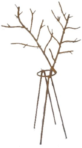 Craft Outlet Tin Wired Reindeer Candle Holder, Multi-Colour, 18-inch