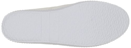 Victoria Inglesa Tintada Puntera, Chaussures à lacets femme Blanc (Blanco)
