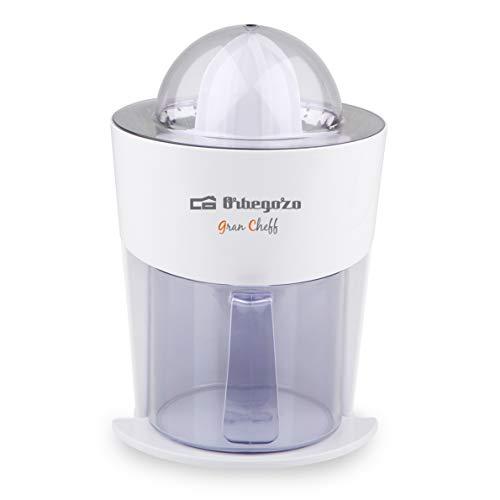 Orbegozo EP 3250 - Exprimidor zumo eléctrico de naranjas, filtro de pulpa de acero inoxidable, sistema...