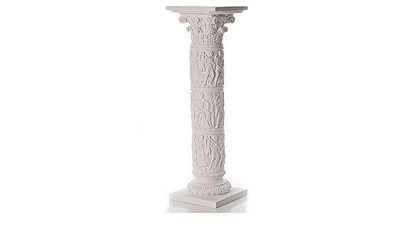 Base per Tavolo di Nozze Statuetta in Resina a Colonna Greca a Forma di Colonna Romana Hvlystory