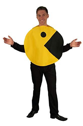 (Pac Man™ Kostüm für Erwachsene)