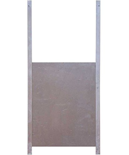Trappe de sortie aluminium pour poulailler XL