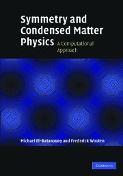 Symmetry and Condensed Matter Physics Hardback: A Computational Approach