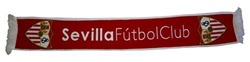 Sevilla CF Bufsev Bufanda Doble HD, Rojo / Blanco, Talla Única