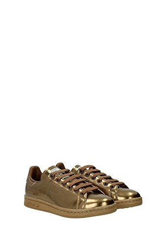 S75937RAFSIMONSSTANSMITH Adidas Sneakers Femme Cuir Or Or