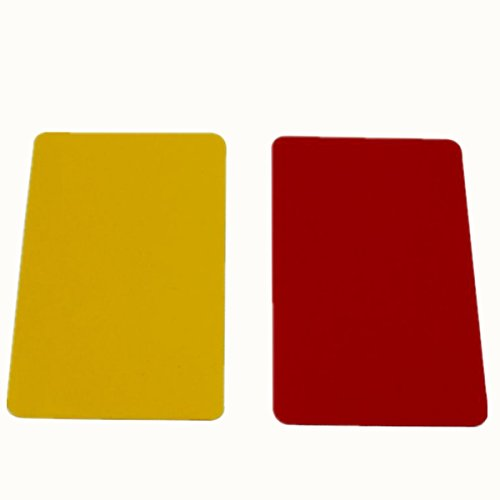 WENHAOYU Football Referee Score Notebook Set Red and Yellow Replacement Cards Score Sheets Soccer Sports Referee Equipment  B