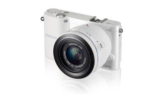 mkamera (20,3 Megapixel, 7,6 cm (3 Zoll) LCD-Display, Aufsteckblitz, HDMI, WiFi, USB 2.0) inkl. 20-50 mm i-Function Objektiv weiß ()