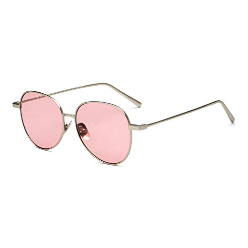 RYRYBH Ocean Blech Mode Männer und Frauen Sonnenbrillen Sonnenbrillen 2018 Neue Sonnenbrillen Sonnenbrille (größe : C3 Dumb Gold orange Tablets)