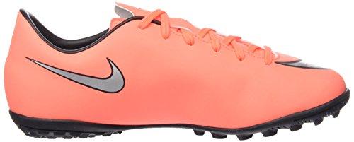 Nike Jr Mercurial Victory V Tf, Scarpe da Calcio Unisex Bambini Multicolore (Brght Mng/Mtllc Slvr-Hypr Trq)
