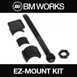 BM WORKS Fahrrad-Lenkerverlängerung für Fahrrad-Halterungen, GPS-Einheiten, Lichter, Kameras oder Smartphone-Hüllen, Easy Mount - - Multi-sport Gps-pack