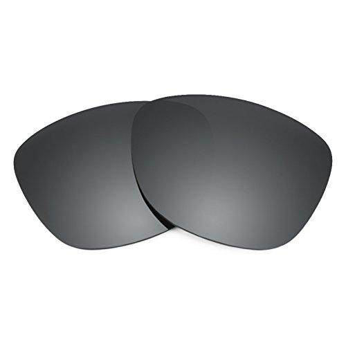 Revant Ersatzlinsen für Ray Ban New Wayfarer 55mm RB2132 Polarisierung Schwarz Chrom MirrorShield®