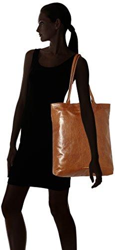 Royal RepubliQ Damen Essential Tote Schultertasche, 10 x 40,5 x 32,5 cm Braun (Hazel Brown)