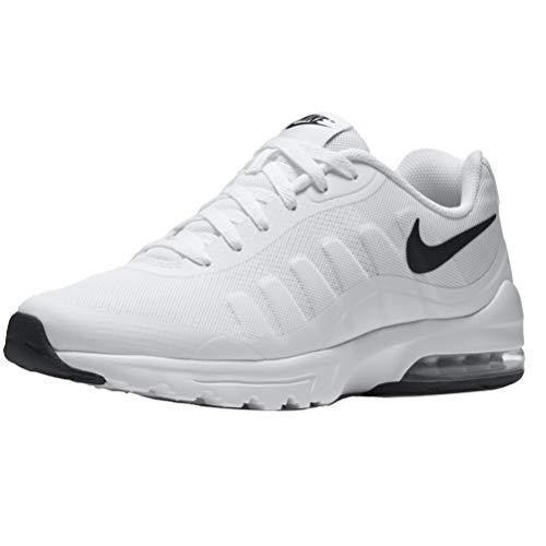 Nike Herren Air Max Invigor Laufschuhe, Weiß (White/Black 100), 45 EU - Jordan Air Herren