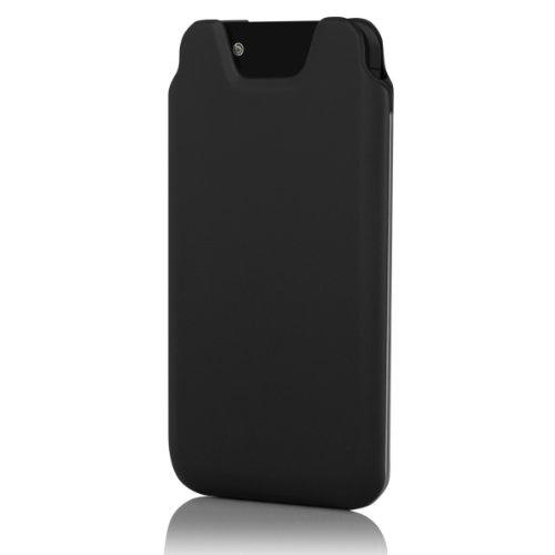 Incipio IPH-880 Marco Premium Polycarbonat Tasche für Apple iPhone 5/5S/SE schwarz Schwarz