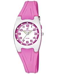 Calypso - K6042/C - Montre Fille - Quartz - Analogique - Aiguilles lumineuses - Lumineuse - Boussole - Bracelet plastique rose