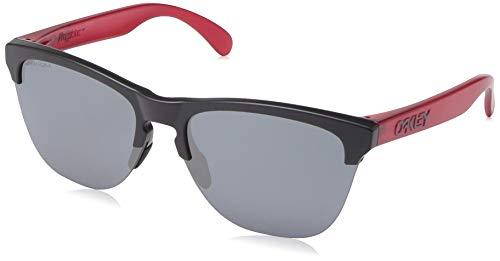 Ray-Ban Herren 0OO9374 Sonnenbrille, Rot (Matte Black), 63