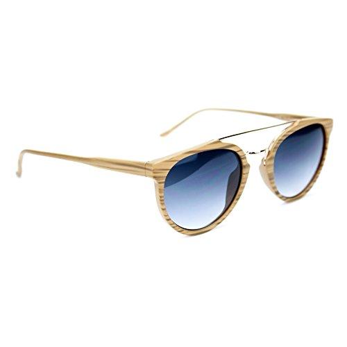 Sonnenbrillen Effekt Holz Modell