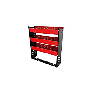 Autorack Products STORETIDY VAN RACKING SYSTEM - VAN SHELVING UNIT- Steel. (Made in the UK ** Beware of poor quality copy!!) Ideal for Ford Transit Van. (product code ST1)