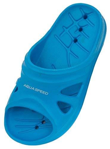 Aqua-Speed Kinder Florida Pool Schuhe ,blau, 35