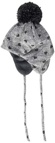 Sterntaler Inka-Mütze mit Bommel, Ohrenklappen und Bindebändern, Alter: ab 18-24...