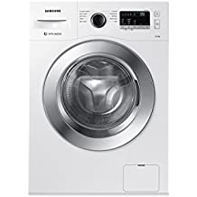 Samsung 6.5 kg Fully-Automatic Front Loading Washing Machine (WW65M206L0W/TL, White)