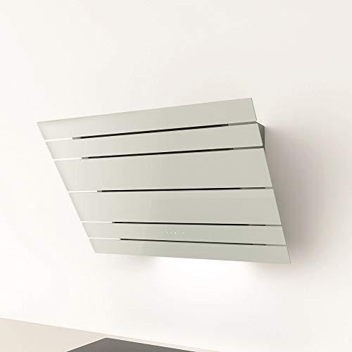 Galvamet/LEVANTE 90/F WH/ 90 cm/Plasma/Kopffreie Dunstabzugshaube Umluft Plasmatechnologie (90 cm weiß)
