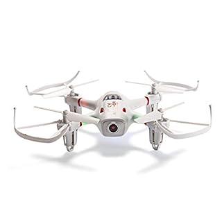 GeoFlyer Smart Fly Drohne 2,4 GHz Quadcopter gebaut in HD WiFi Kamera 360 Flip & Auto Hover Headless Modus One Key Start/Landung, App Funktion