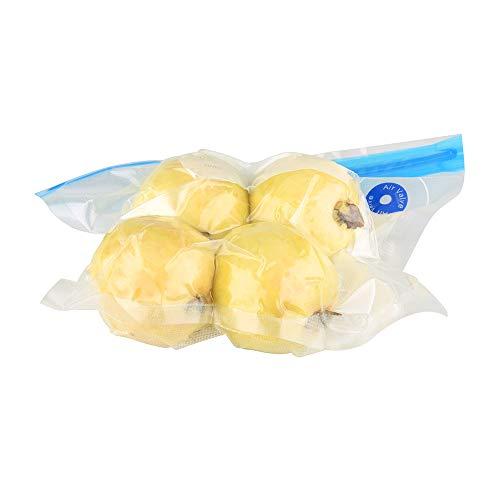 O2frepak sous vide borse riutilizzabili alimentari sottovuoto sacchetti di conservazione degli alimenti con 20 bpa libero e approvato dalla fda alimentare saver borse, 2 borsa clip di tenuta.