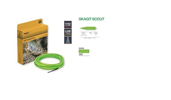 Wasabi Green Airflo Fly Lines Skagit Scout