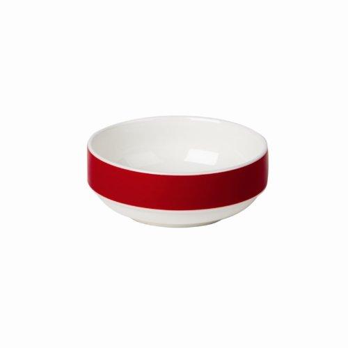 Royale de porcelaine Maxadura Bord Rouge bande d'empilage Capacité du bol: 11.25 oz / 320ml. Quantité, boite: 12.