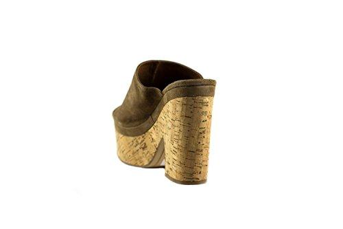 EMANUELLE VEE Sandales Pour Femme Taupe