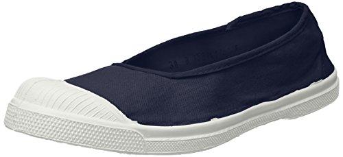 Marine-blau-damen-tennis-schuhe (Bensimon Damen Tennis Ballerine Sneaker, Blau (Marine), 40 EU)