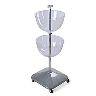 Azar 700920 Two-Tier Bowl Displays