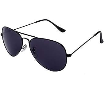 SHVAS Aviator Unisex Sunglasses (Black,AV001)