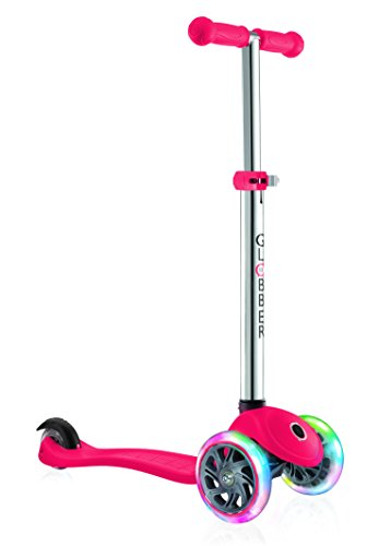 Globber Primo Scooter with Light Up Wheels - Red Best Price and Cheapest