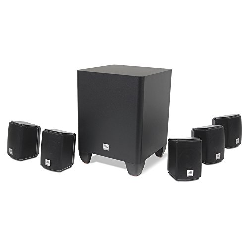 JBL-Home-Cinema-510-Easy-Install-51-Home-Theatre-Surround-Sound-Speaker-System-Including-Five-Satellite-Speakers-and-60-W-Powered-Subwoofer-Black