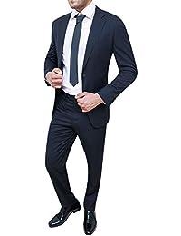 5dea8b355a34 Amazon.it  Completo gessato - Abiti e giacche   Uomo  Abbigliamento