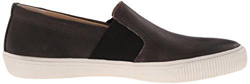 FRYE Mens Miller Slip On Fashion Sneaker Charcoal
