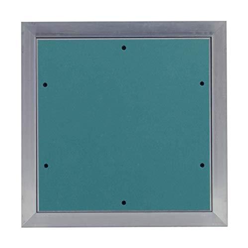 MW multi werkzeug Revisionsklappe 250 x 600 mm mit 12,5mm GK-Einlage imprägniert für Feuchtraum geeignet Aluminium-Rahmen 25 x 60 cm